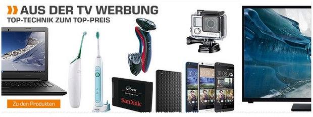 Saturn Montagsangebot am 21.12.2015: HTC Handy und Telefunken Fernseher ergänzen die bisherigen Deals in der Werbung