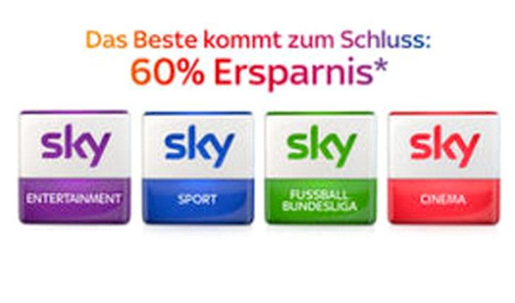 Sky Markt Werbung