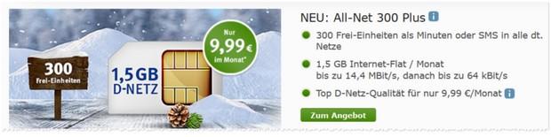WEB.DE All-Net 300 Plus