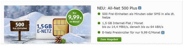 WEB.DE All-Net 500 Plus