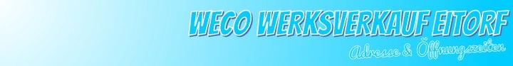 WECO Werksverkauf Eitorf: Öffnungszeiten & Adresse