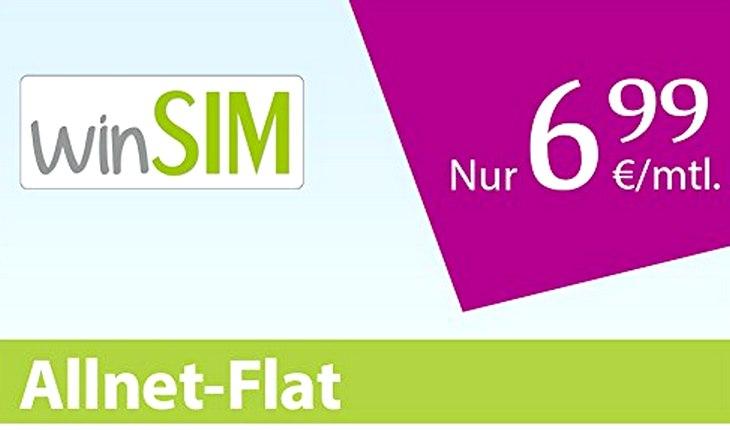 winSIM Allnet-Flat + LTE