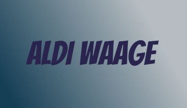 ALDI Waage