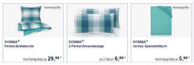 Dormia Bettwaesche von ALDI