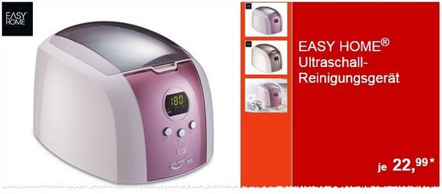 ALDI Ultraschallreinigungsgerät