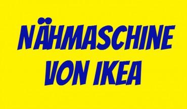 IKEA Nähmaschine
