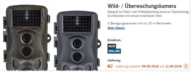 LIDL Überwachungskamera