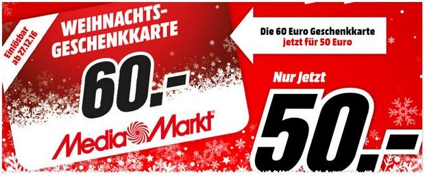 Media Markt Geschenkkarte
