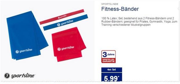 ALDI Fitnessbänder von Sportsline