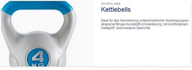 ALDI Kettlebell
