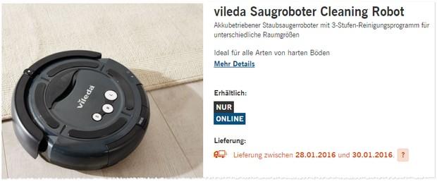 Vileda Saugroboter