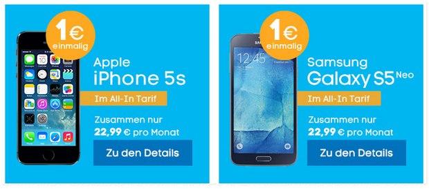 Blau iPhone-Tarif