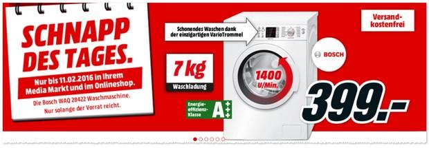 Bosch Waschmaschine WAQ28422