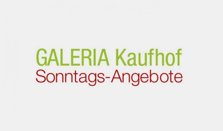 Kaufhof Sonntagsangebote