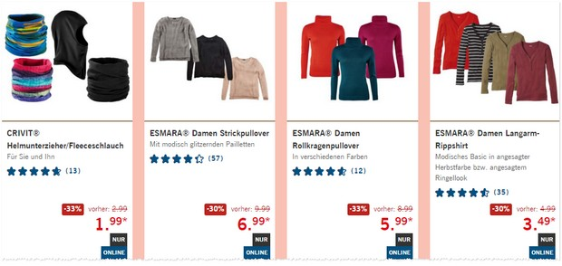 LIDL Winter-Sale