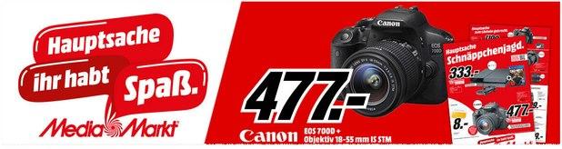 Die neue Media-Markt-Prospekt-Werbung ab 20.1.2016 ist da, z.B. mit der Canon EOS 700D für 477 €