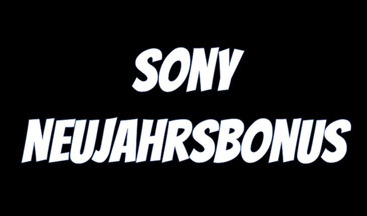 Sony-Neujahrsbonus