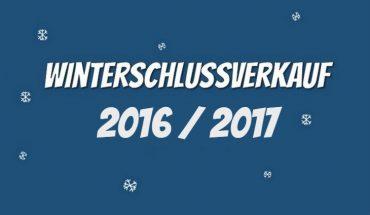 Winterschlussverkauf 2017