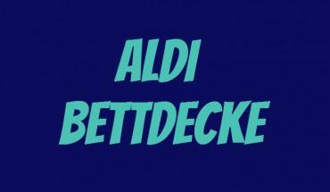 ALDI Bettdecke