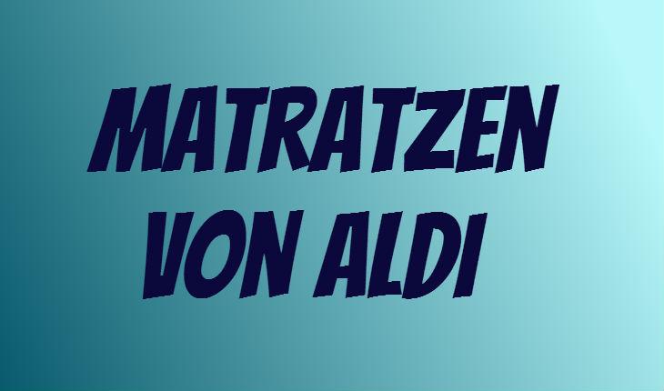 ALDI Matratze
