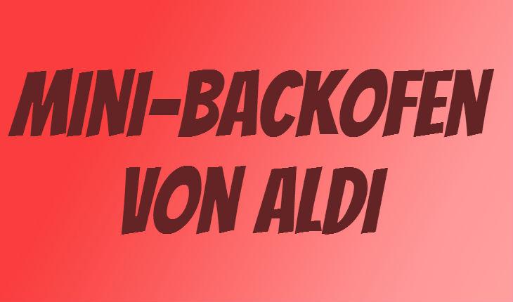 ALDI Mini Backofen
