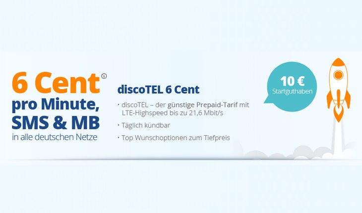 discoTEL Prepaid-Tarif