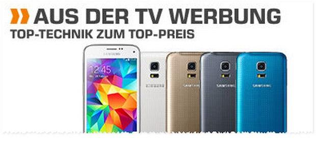 Saturn Montagsangebot ab 22.2.16: Samsung Galaxy S5 mini für 199 €