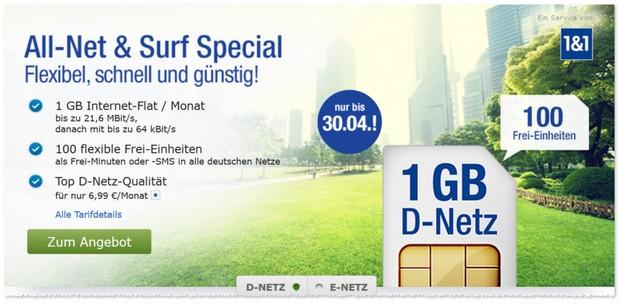 6,99 Euro Tarifkosten