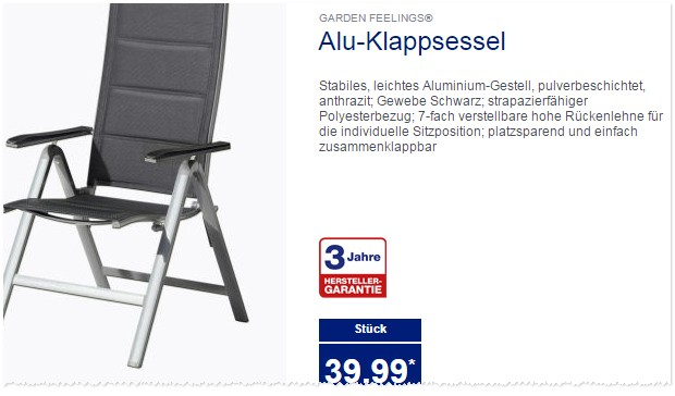 gartenm bel als aldi angebot ab 30. Black Bedroom Furniture Sets. Home Design Ideas