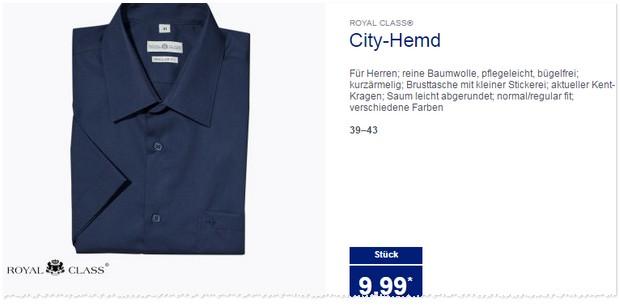 ALDI Hemden