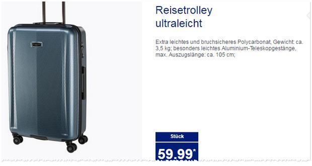 ALDI Koffer Angebote