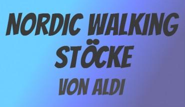 ALDI Nordic Walking Stöcke