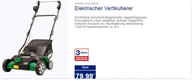 elektro vertikutierer aldi gardenline elektro. Black Bedroom Furniture Sets. Home Design Ideas