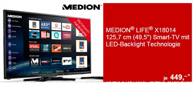 Medion Life Fernseher