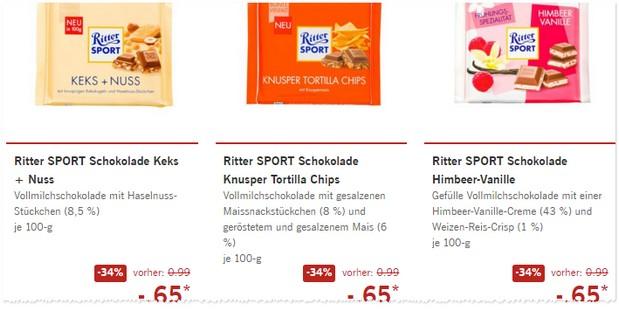 Ritter Sport Angebote