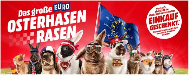 Media Markt EURO Osterhasen-Rasen