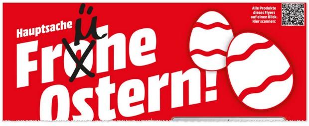 Media Markt Werbung - Frühe Ostern