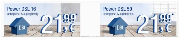 WEB.DE Power DSL 50 Flat-Tarif