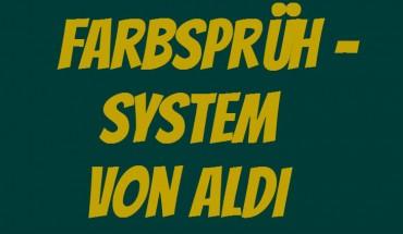ALDI Farbsprühsystem