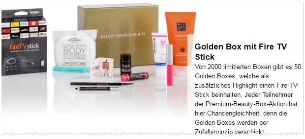 Amazon Beauty Box gratis