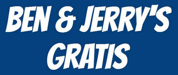 Ben & Jerry's gratis