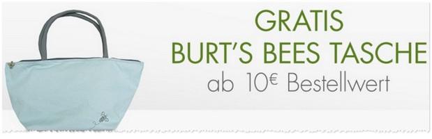 Burt's Bees Tasche gratis