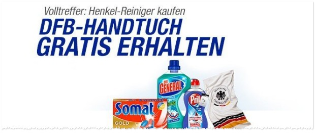 DFB Badetuch gratis