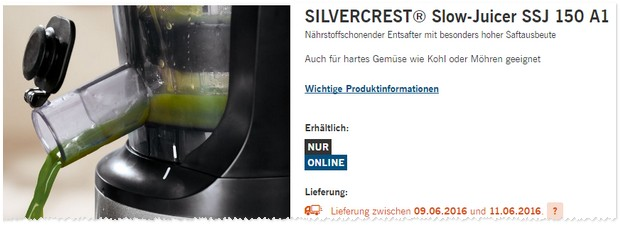 Slow Juicer Silvercrest Test : Silvercrest Entsafter als LIDL Angebot ab 29.12.2016