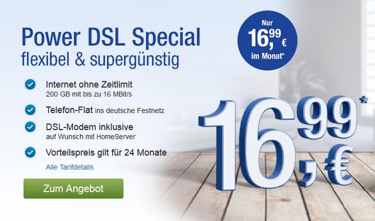GMX DSL Flat