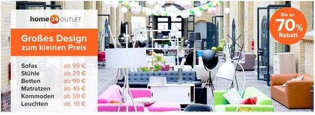 home24 outlet berlin er ffnung am 23. Black Bedroom Furniture Sets. Home Design Ideas