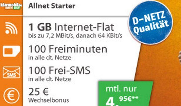 Klarmobil Allnet-Starter