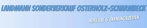 Landmann Sonderverkauf in Osterholz-Scharmbeck