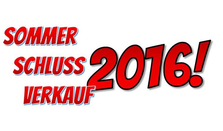 Sommerschlussverkauf 2016