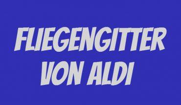 ALDI Fliegengitter